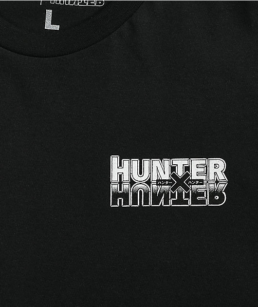 Hypland x Hunter x Hunter Troupe Black T-Shirt