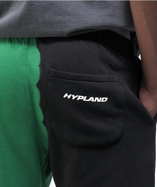 Hypland x InuYasha Black & Green Sweatpants