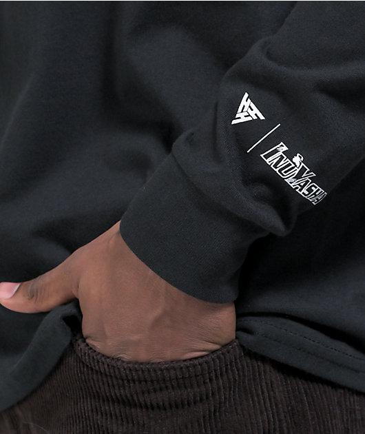Hypland x Inuyasha Bonds Black Long Sleeve T-Shirt