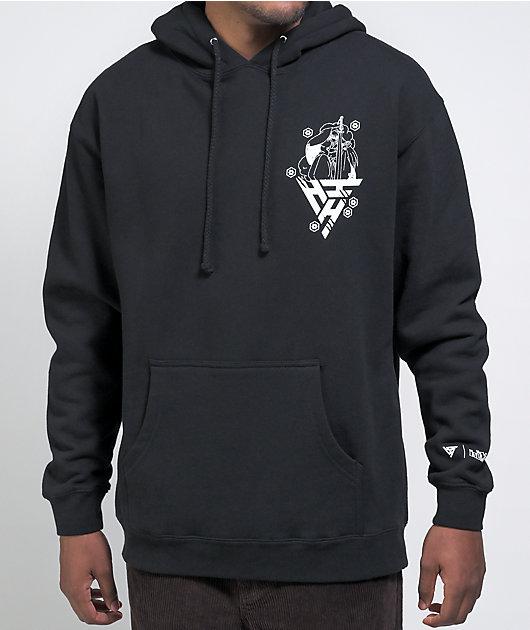 Hypland x Inuyasha Sesshomaru Crescent Black Hoodie