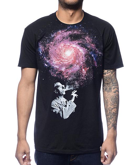Imaginary Foundation Infinite Black T-Shirt