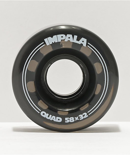 Impala 58mm 82a Black Roller Skate Wheels