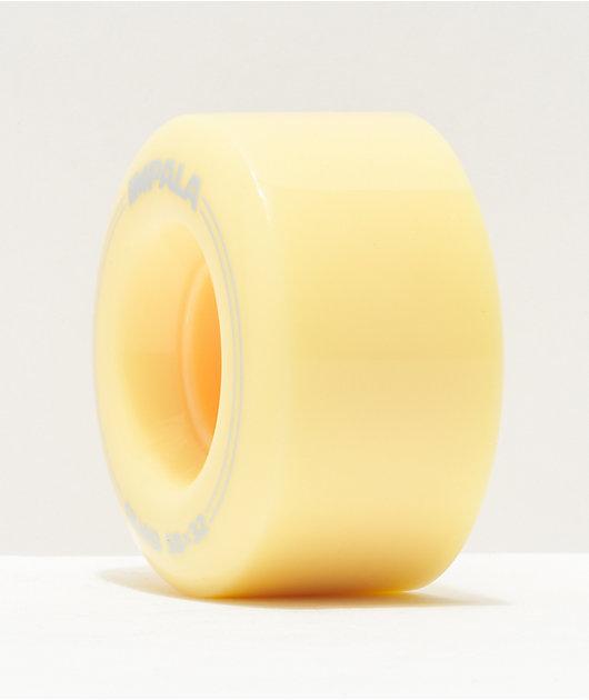 Impala 58mm 82a Pastel Yellow Roller Skate Wheels