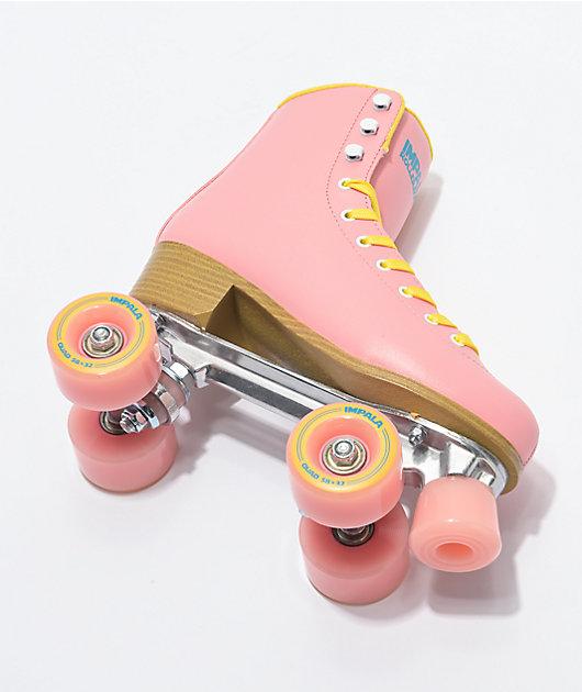 Impala Pink & Yellow Roller Skates