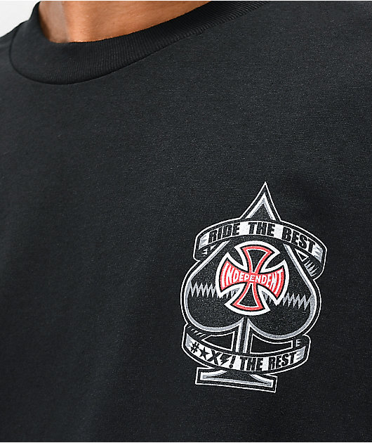 Independent Ante Black T-Shirt