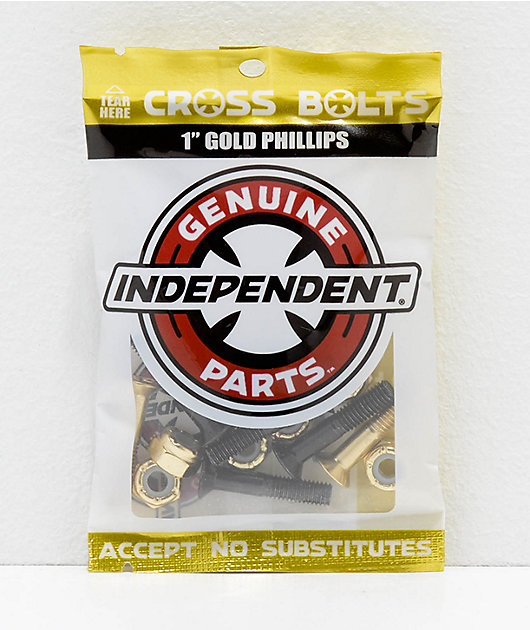 Independent Gold Crossbolts 1