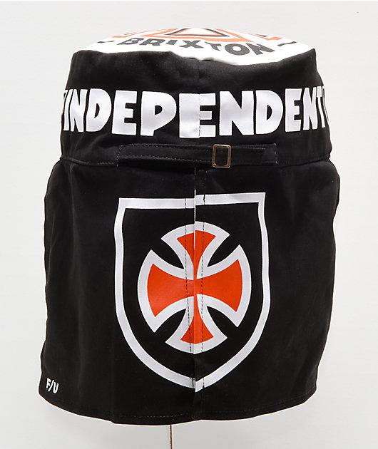 Independent x Brixton Black & Orange Desert Hat