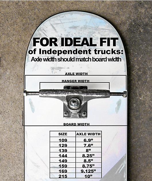 Independet 129 Stage 11 ejes de skate crudos