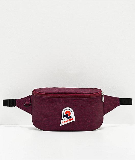 Invicta 25 Solid Purple Fanny Pack