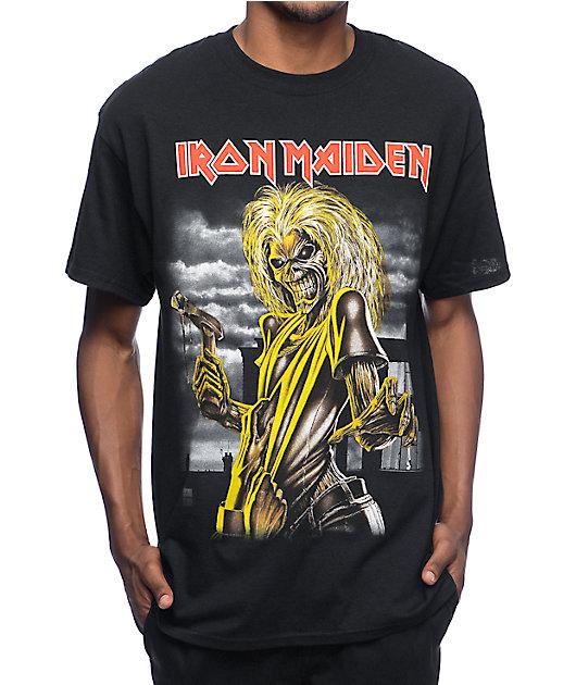 Iron Maiden Killers Black T-Shirt