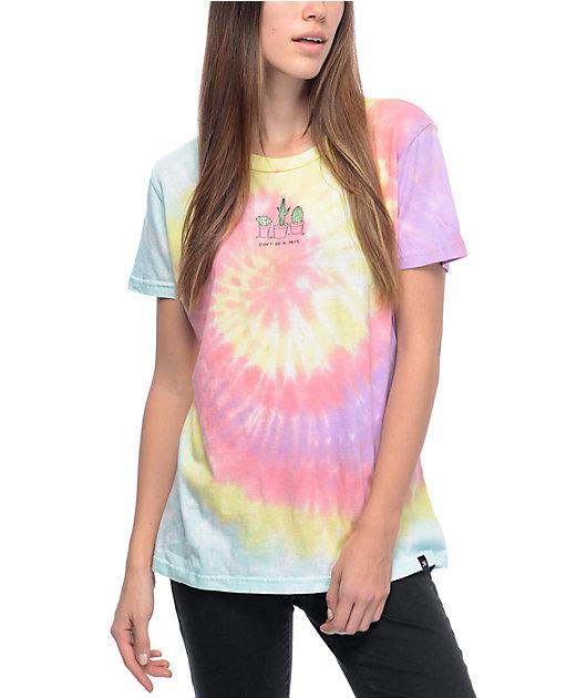 JV By Jac Vanek Don't Be A Prick camiseta con efecto tie dye