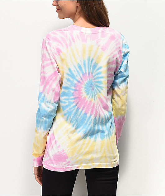 JV by Jac Vanek 2 Cool Tie Dye Long Sleeve T-Shirt