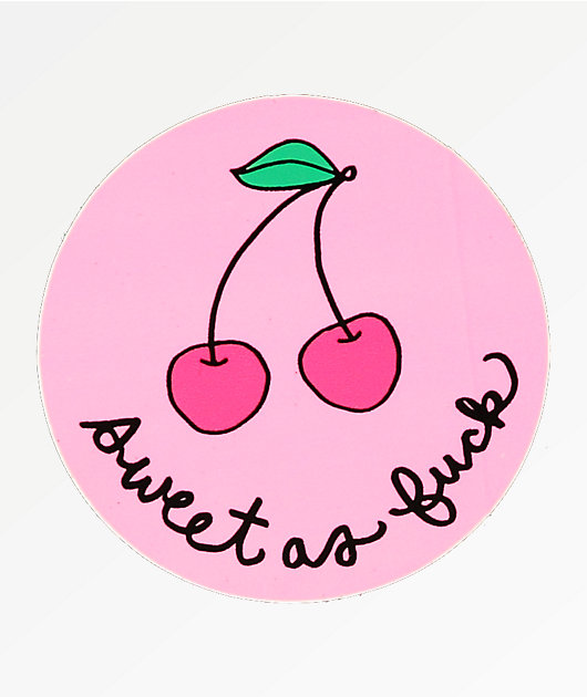 JV by Jac Vanek Sweet As Fuck Sticker