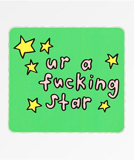 JV by Jac Vanek Ur A Star Sticker
