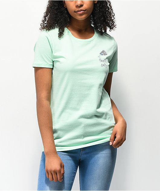 JV by Jack Vanek Feelin Salty camiseta menta