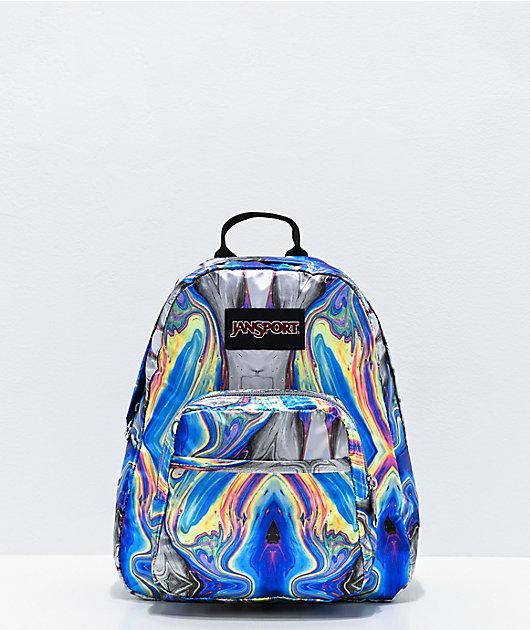 JanSport Half Pint FX Oil Swirl Mini Backpack