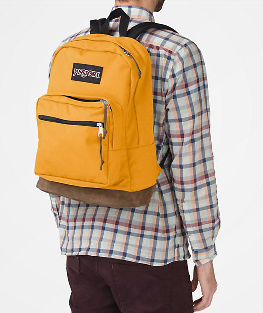 JanSport Right Pack English Mustard 31L Backpack