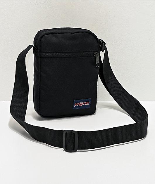 JanSport Weekender Black Crossbody Bag
