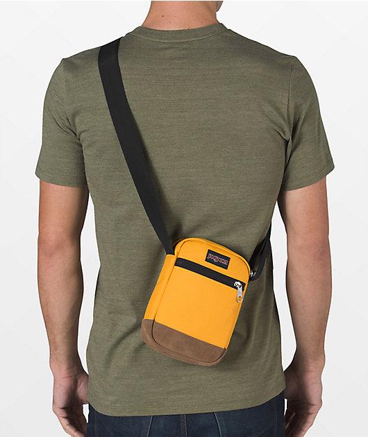 JanSport Weekender Mustard & Tan Shoulder Bag