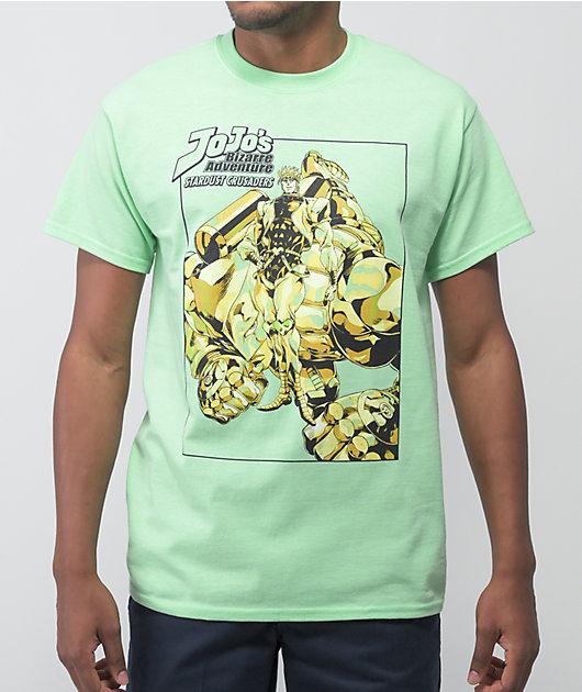 JoJos Bizarre Adventure Stardust Green T-Shirt