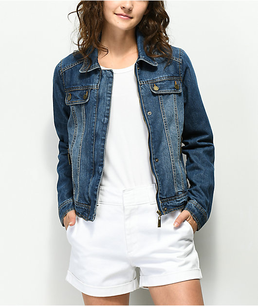 Jou Jou Oxford Blue Denim Jacket
