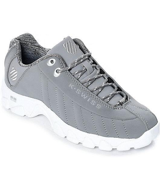 K-Swiss ST329 White \u0026 Stingray Shoes