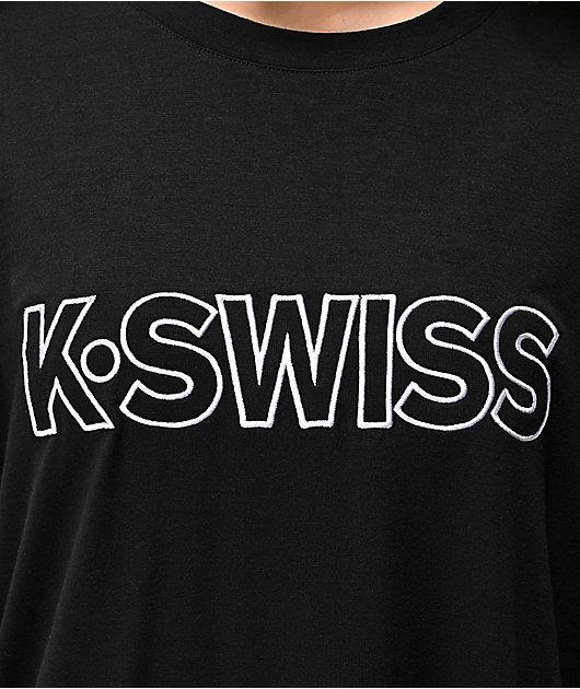 K-Swiss Ultraviolet Black T-Shirt
