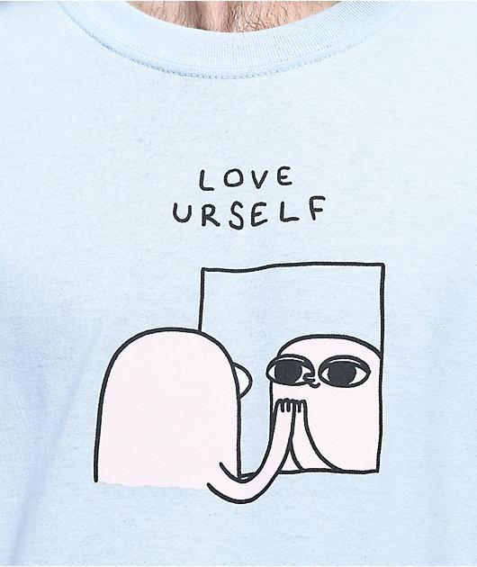 Ketnipz Love Urself Light Blue T-Shirt