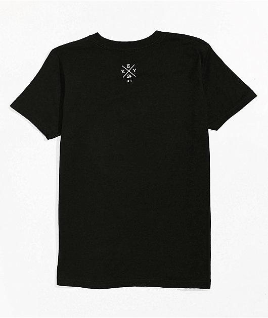 Key Street Boys Burn It Black T-Shirt
