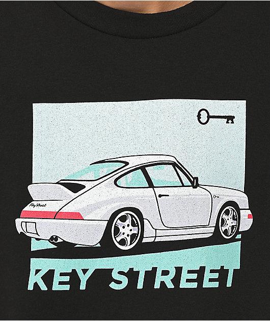 Key Street Classy Ride Black T-Shirt