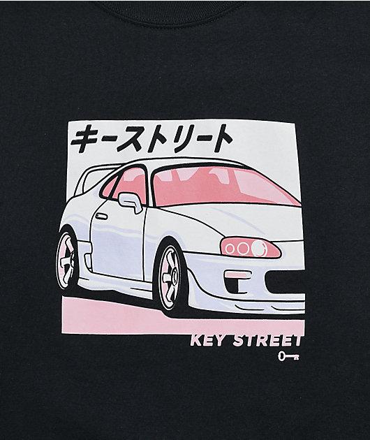 Key Street MK4 Black Long Sleeve T-Shirt