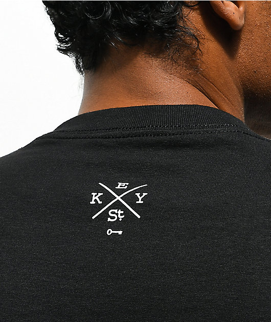 Key Street Moto Ichiban Black T-Shirt