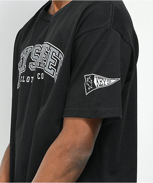 Key Street Overlogo Black T-Shirt