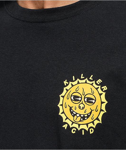 Killer Acid Rise & Shine Black T-Shirt