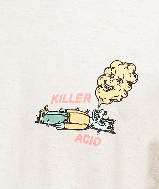 Killer Acid Way Out West camiseta en color arena