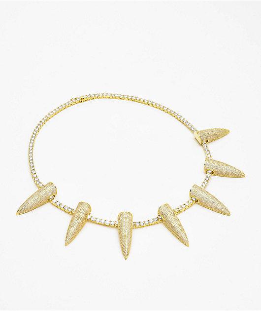 King Ice Wakanda Iced Gold Necklace
