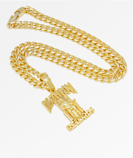 King Ice x Death Row Records Pendant Necklace