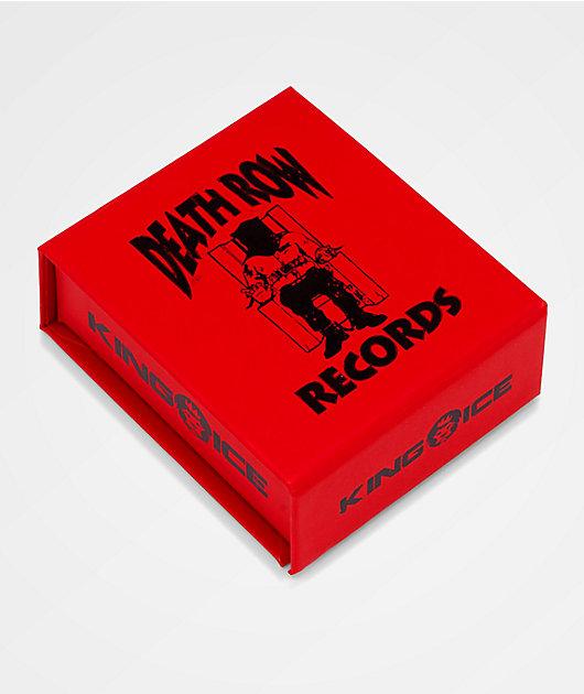 King Ice x Deathrow Records collar con colgante