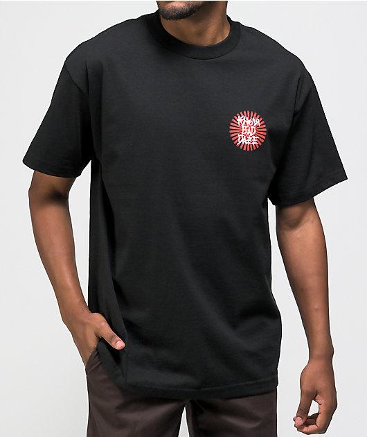 Know Bad Daze Devil Inside Black T-Shirt