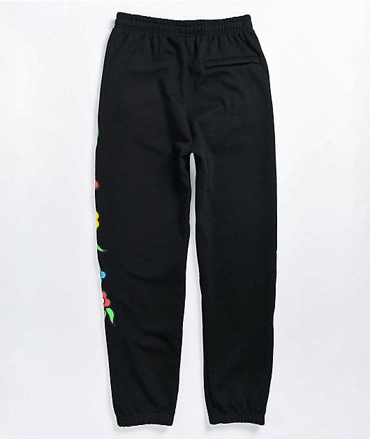 Krooked Gonz Black Sweatpants