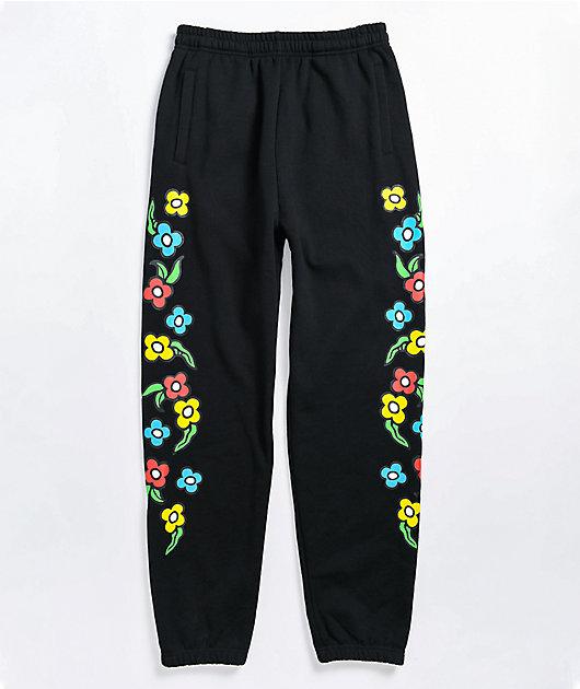 Krooked Gonz Black Sweatpants