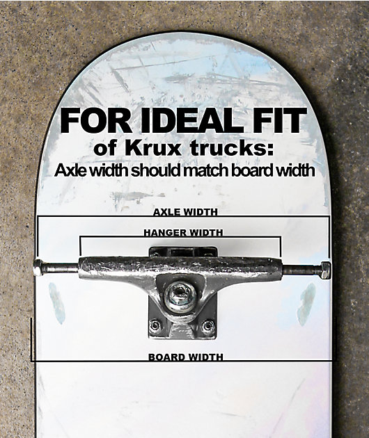 Krux Black Marbled 8.25