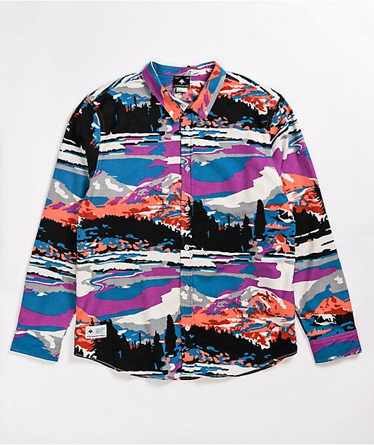 LRG Alpine Divine Long Sleeve Flannel Shirt