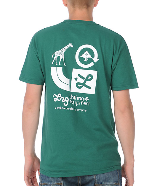 LRG CC Two Forest Green T-Shirt