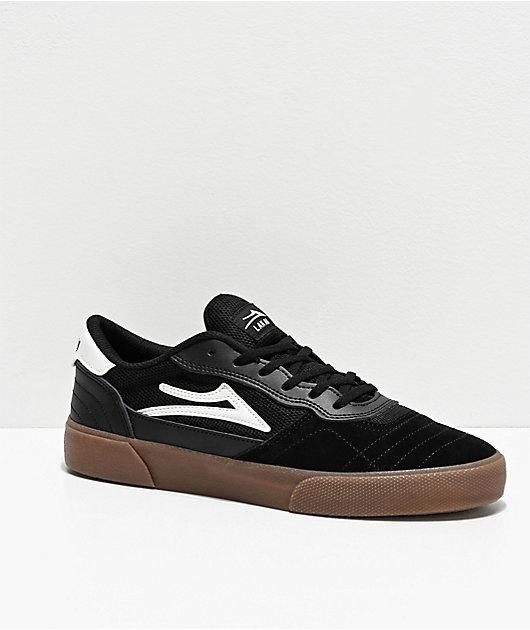 Lakai Cambridge zapatos de skate en negro y goma