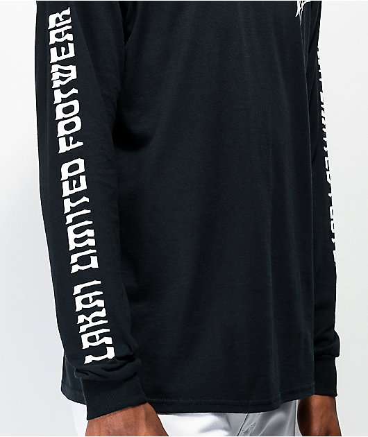 Lakai Cherub camiseta negra de manga larga