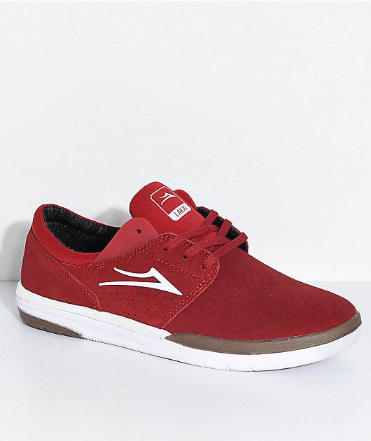 White \u0026 Gum Suede Skate Shoes | Zumiez