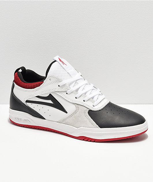 5 Lakai Footwear Skate Chaussures Shoes Tony Hawk PROTO Black Light Grey Suede 13//48