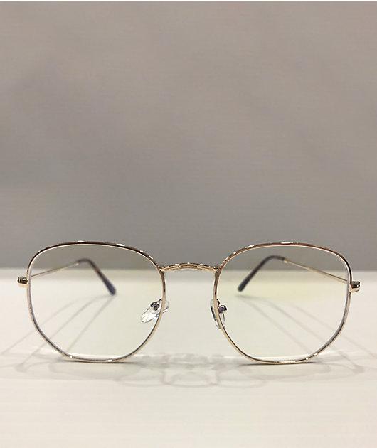 Large Round Blue Light Blocker Glasses