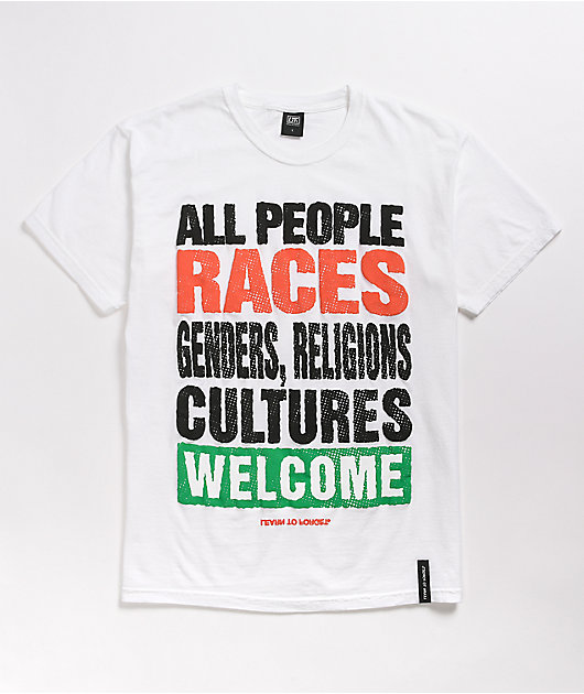 Learn To Forget All Welcome White T-Shirt